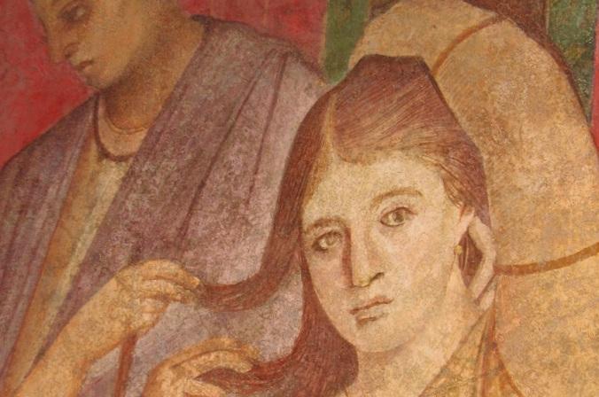 No está solo quien quiere sino quien no puede evitarlo (Villa de los misterios, Pompeya, Nápoles)